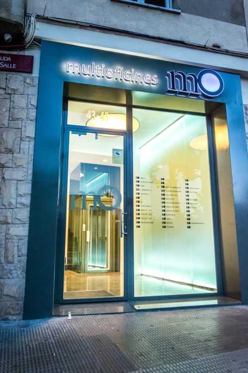 Puerta de acceso Multioficinas MO