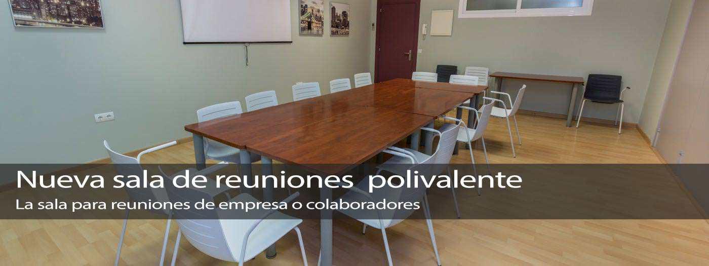 sala de reuniones polivalente