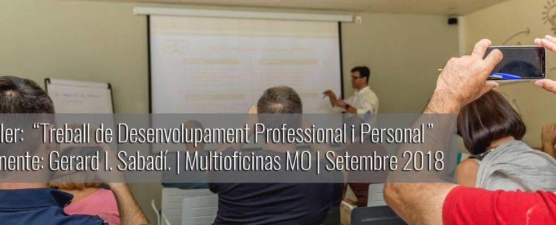 taller Treball de Desenvolupament Professional Personal Multioficinas MO. Reus