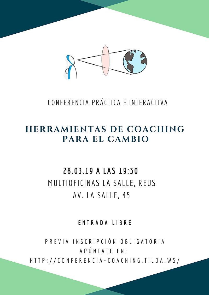 Conferencia herramientas de coaching para cambios positivos