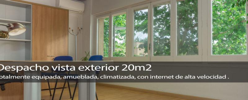 despacho 20m2 exterior, luminoso en Reus