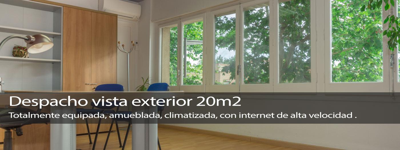 Despacho exterior 20m2