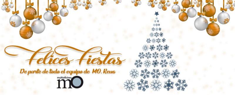 Felicies fiestas de parte de MO, Reus. Tarragona